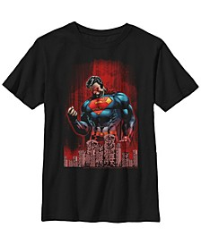 DC Comics Little and Big Boys Superman Return of Krypton Short Sleeve T-Shirt