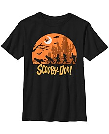 Scooby Doo Little and Big Boys The Great Trick or Treat Hunt Short Sleeve T-Shirt