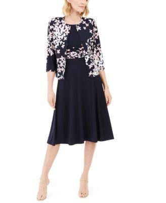 Jessica V-Neck Flared Mini Dress with Strappy Back Design