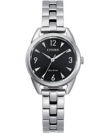Drive From Eco-Drive Women's Stainless Steel Bracelet Watch 27mm
