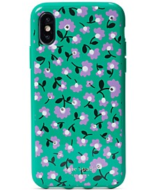 Party Floral Jeweled iPhone XS Case