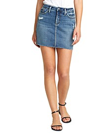 Francy Denim Mini Skirt