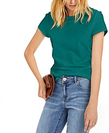 INC Cotton Crewneck Top, Created for Macy's