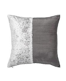 Metallic Texture Decorative Pillow