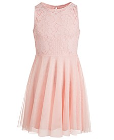 Big Girls Lace Skater Dress, Created for Macy's