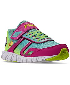 Girls Crater 19 Stay-Put Running Sneakers from Finish Line