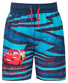 Toddler Boys Cars Swim Trunks