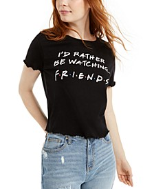 Love Tribe Juniors' Friends Graphic T-Shirt