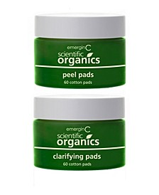 Scientific Organics At-Home Facial Peel and Clarifying Kit