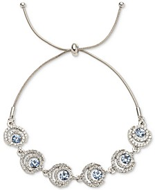 Crystal Halo Slider Bracelet