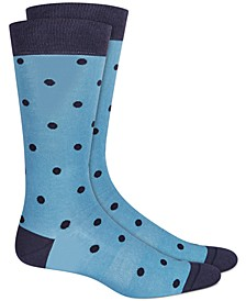 Men's Polka-Dot Socks, Created for Macy's