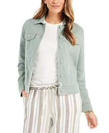 Linen Jacket, Created for Macy's