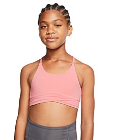 Big Girls Layered-Hem Sports Bra