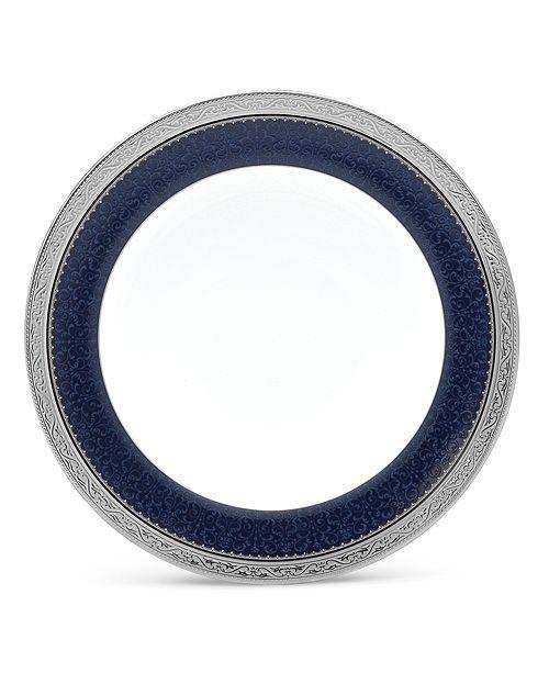 "Noritake Odessa Cobalt Platinum Salad Plate, 8.5"""