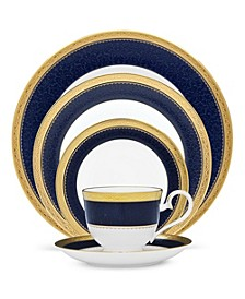 Dinnerware, Cobalt Gold Collection