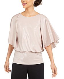 Banded Blouson Top