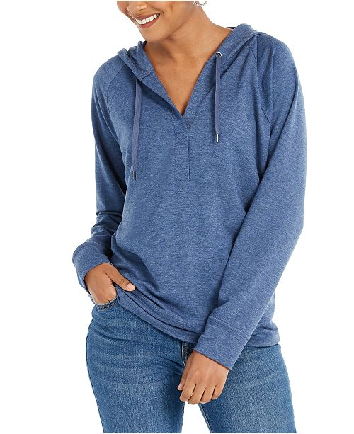 Style & Co Long-Sleeve Hoodie, Created for Macy's