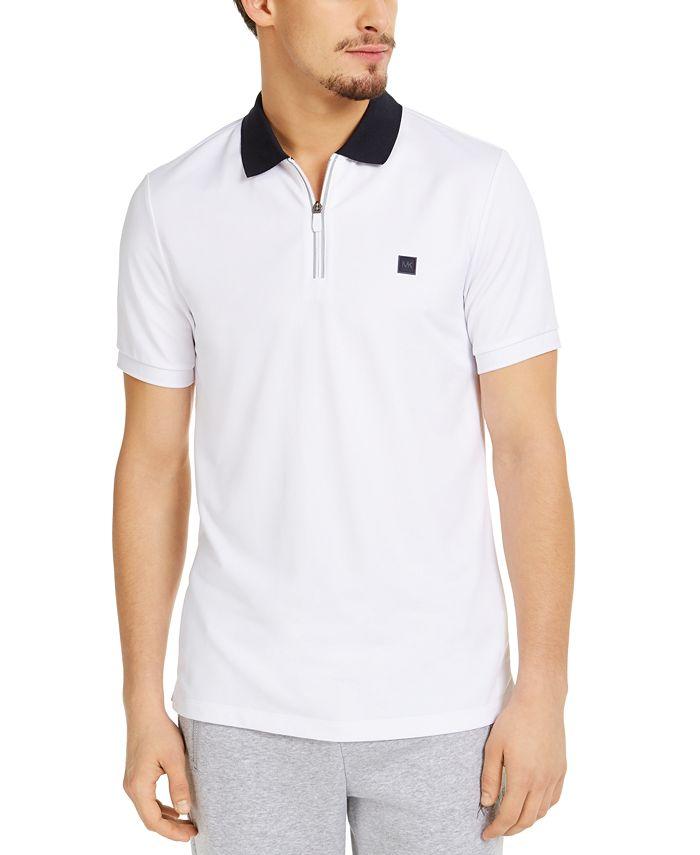 Michael Kors - Men's Kors X Tech Moisture-Wicking 1/4-Zip Polo Shirt