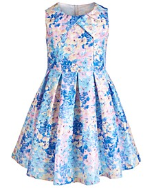 Big Girls Pleated Floral Dress