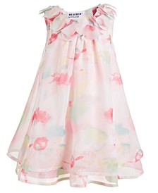 Baby Girls Floral-Print Chiffon Dress