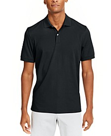 Men's Soft Cotton Interlock Polo, Created for Macy's