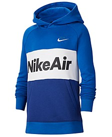 Big Boys Nike Air Colorblocked Pullover Hoodie