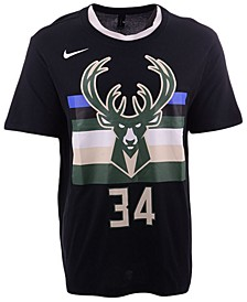 Men's Giannis Antetokounmpo Milwaukee Bucks Statement Player T-shirt