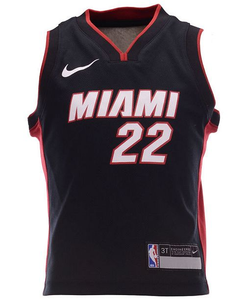 Nike Toddlers Jimmy Butler Miami Heat Icon Replica Jersey