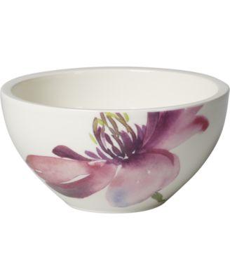 Villeroy and Boch Artesano Flower Art Rice Bowl