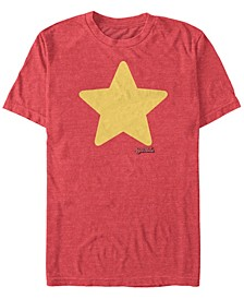 Men's Steven Universe Star Costume Short Sleeve T- shirt