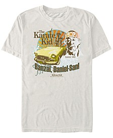 Men's Mr Miyagi Banzai Summer Short Sleeve T- shirt