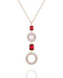 Holiday Sparkle Pendant Necklace
