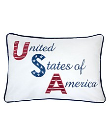 Ellen Independence Day Rectangle Decorative Throw Pillow