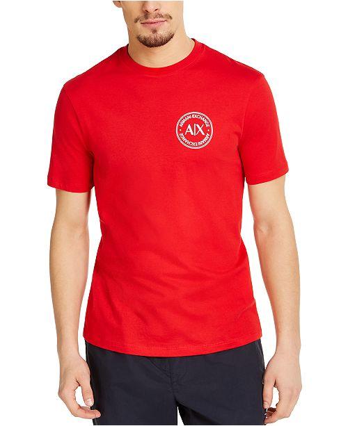 A|X Armani Exchange Men's Circle Logo T-Shirt