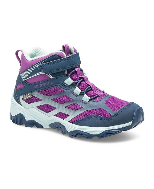 Merrell Kids Toddler, Little and Big Girl Moab FST Mid Waterproof Hiker