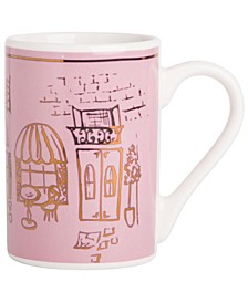 CLOSEOUT! Adore Paris Lavender Mug, Created for Macy's