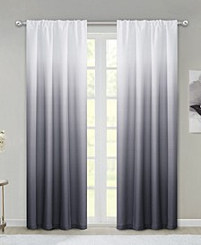 "Ombre 40"" x 84"" Curtain Set"