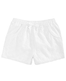 Toddler Girls Eyelet Shorts, Created for Macy's