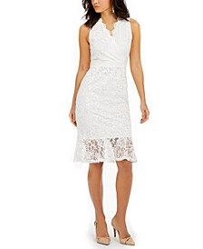 Sleeveless Lace Dress, Created for Macy's