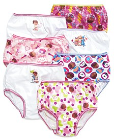 Doc McStuffins Cotton Panties, 7-Pack, Toddler Girls