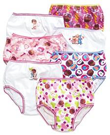 Doc McStuffins Cotton Panties, 7-Pack, Toddler Girls