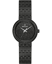 Women's Phantom Black Stainless Steel Bracelet Watch 28mm, Created for Macy's