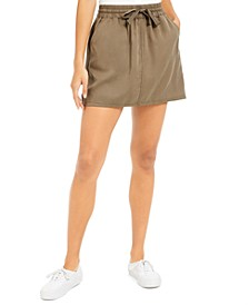Juniors' Utility Skirt