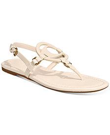 COACH Women's Jeri Leather Sandals