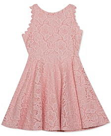 Little Girls Lace Skater Dress