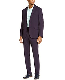 Men's Slim-Fit Xtra Flex Stretch Knit Suit, Created for Macy's