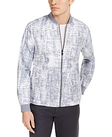 Men's Printed Bomber Jacket, Created for Macy's