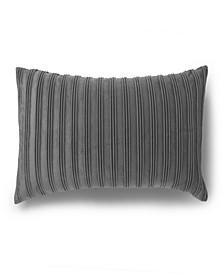 Pleated Velvet Decorative Throw Pillow