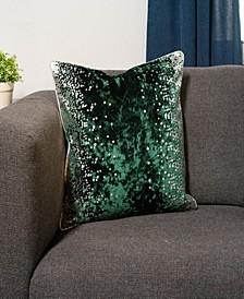 Dot Glam Decorative Throw Pillow
