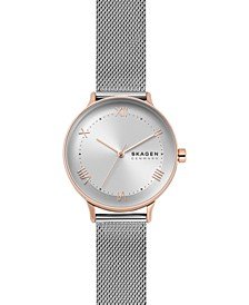 Women's Nillson Stainless Steel Mesh Bracelet Watch 34mm